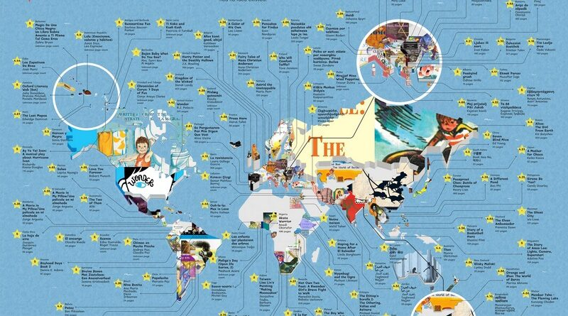 The most popular children's book from every country